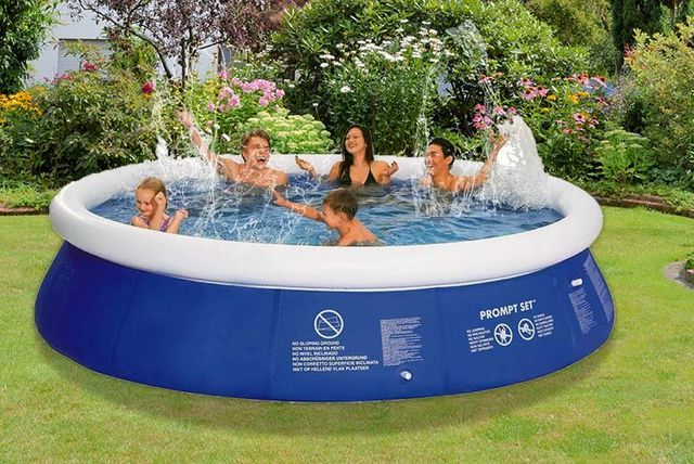 Jilong Inflatable Swimming Pool - 8ft, 10ft or 12ft!   Wowcher ...