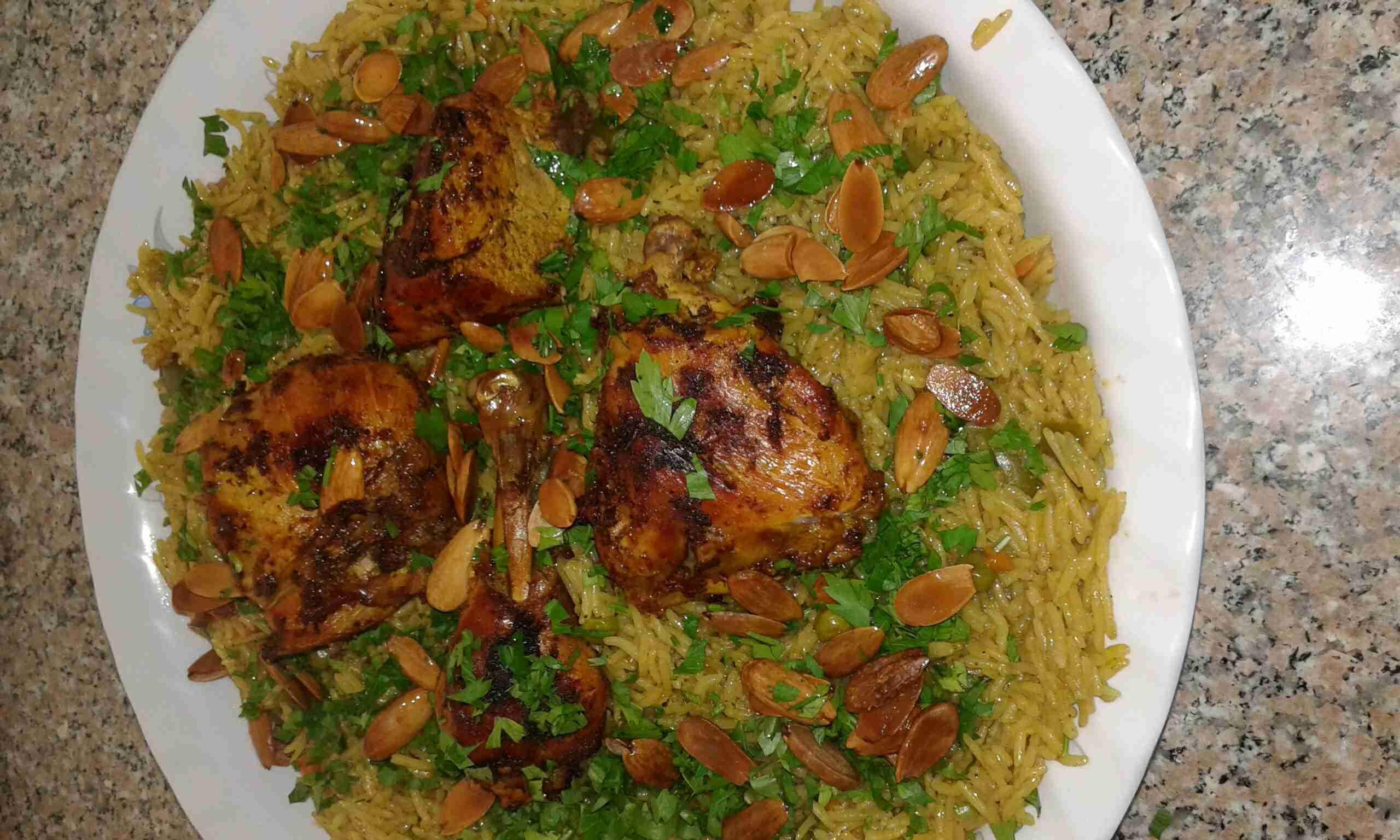 طريقة عمل الكبسة بالدجاج زاكي Main Dishes Food And Drink Food