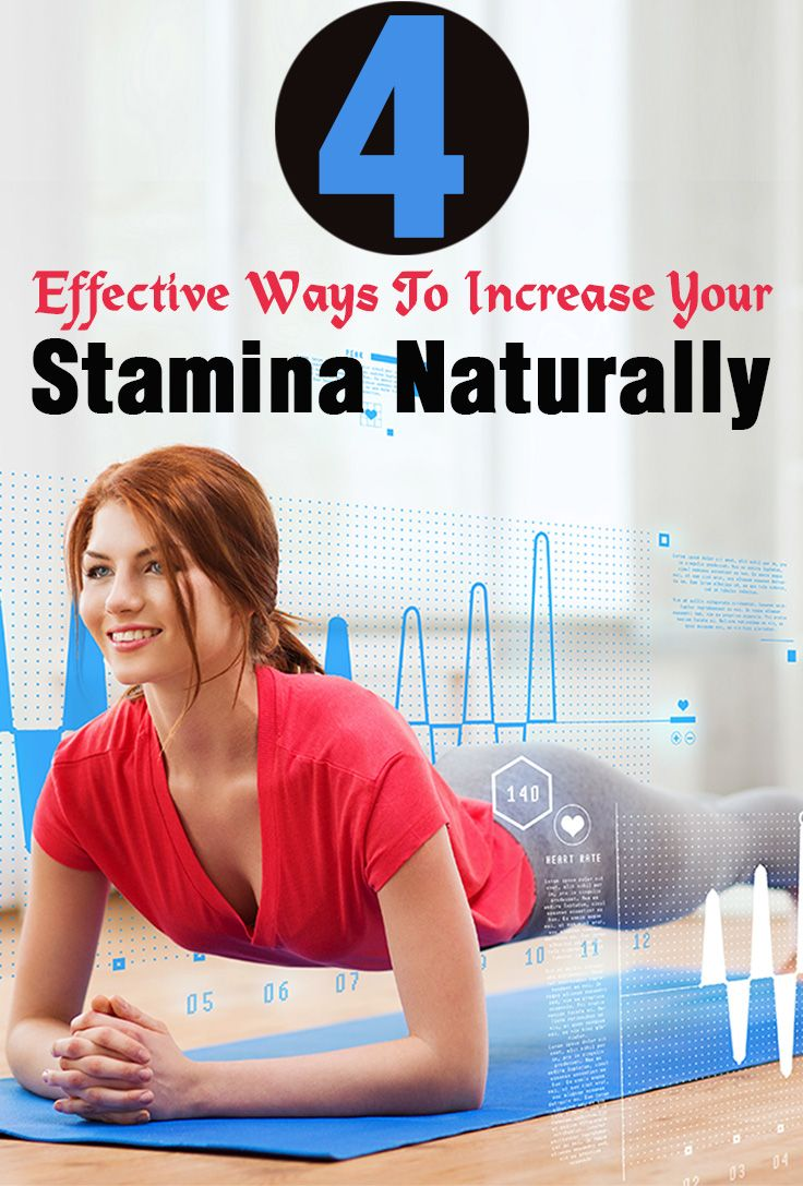 what increases stamina