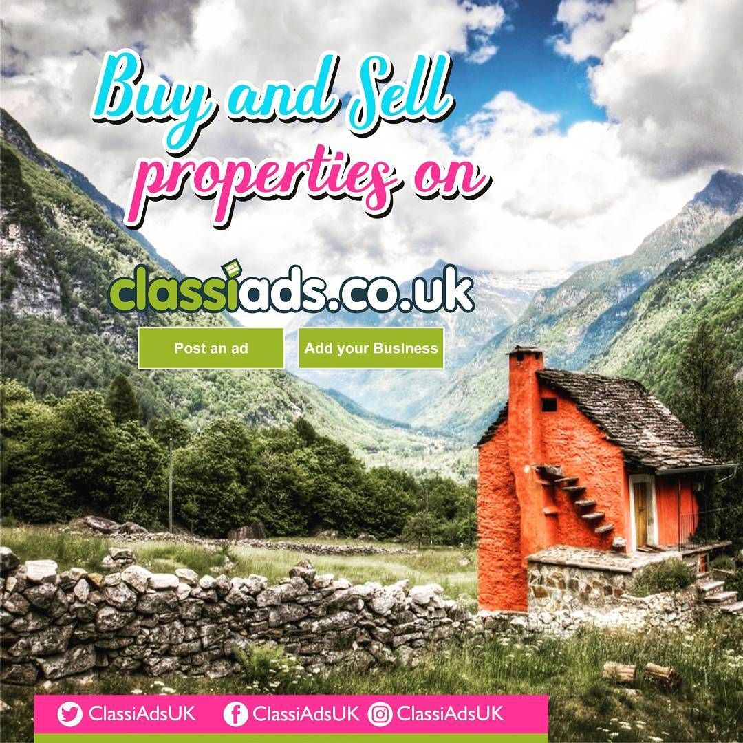 Buy and Sell properties on Classiads.co.uk Post Freeads