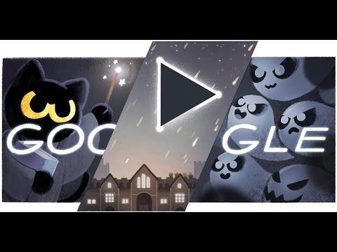 Halloween 2016 Google Doodle Halloween 2016 Doodle Game Level 1 20 Google Doodle Halloween Halloween Doodle Doodles Games
