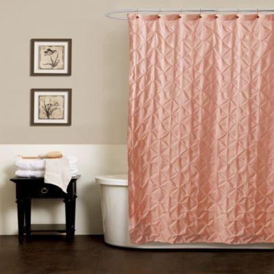 Superb Bed Bath U0026 Beyond Noelle Pintuck 54 Inch X 78 Inch Shower Curtain In Peach