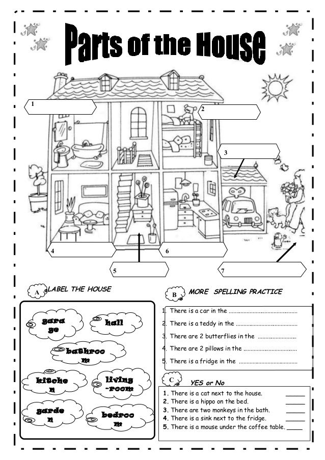 Parts of a house images