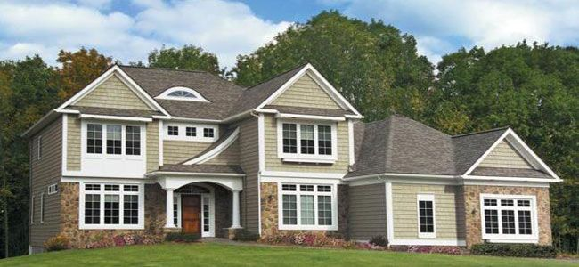 house siding options for home owners discover multiple pricing options for exterior siding. Black Bedroom Furniture Sets. Home Design Ideas