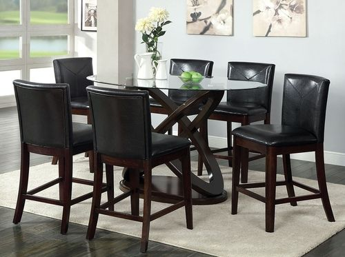 5 Pc Antenna Ii Counter Height Dining Table Set Cm3774pt Counter