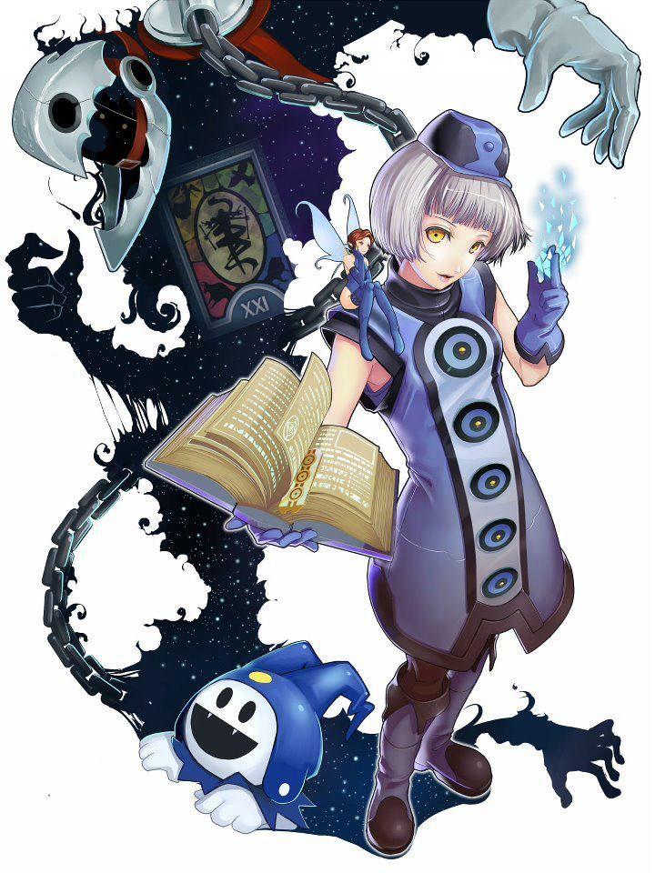 Shin Megami Tensei Persona 3 Elizabeth Thanatos And Jack