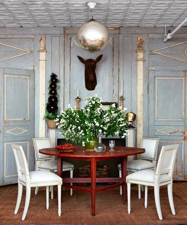 John Derian's Magical New York Apartment DINING ROOMS