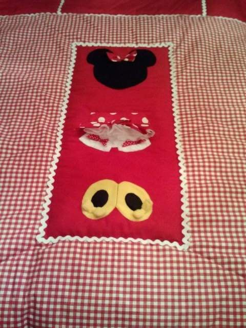 Minnie mouse baby crib toddler bedding by betsysbabyboutique19 disney decor - Mini mouse bedroom ...