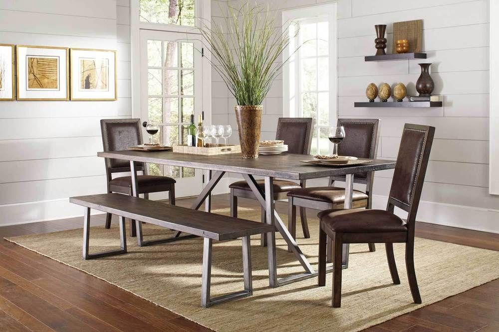 35+ Small dining room table set with bench Trend