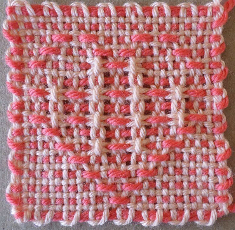 Open Weave Heart 1 and 2 — 4″ (31 x 31) patterns | Pin ...
