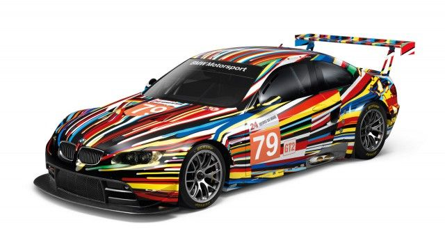 Jeff Koons Bmw M3 Gt2 Art Car Scale Models Up For Sale With