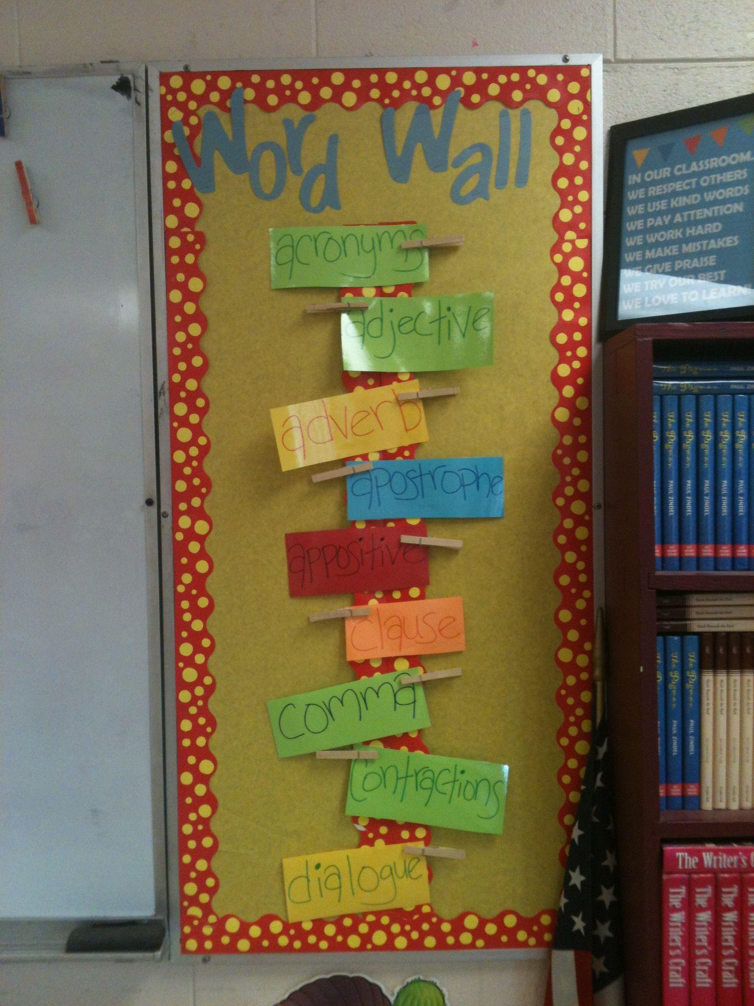 #WordWall #MiddleSchool #ela