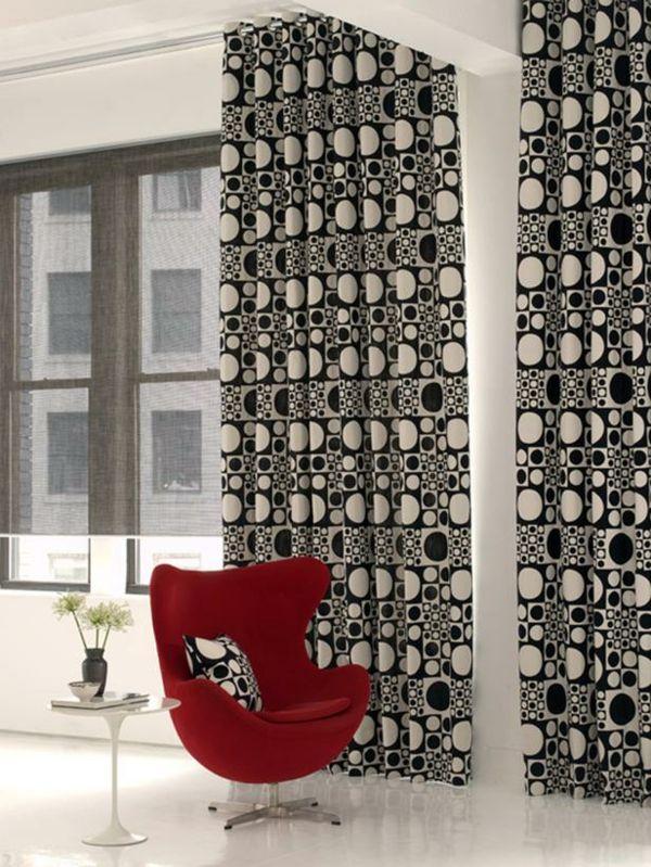 gardinen im wohnzimmer deko, gardinen im wohnzimmer – deko ideen für jede einrichtung, Ideen entwickeln
