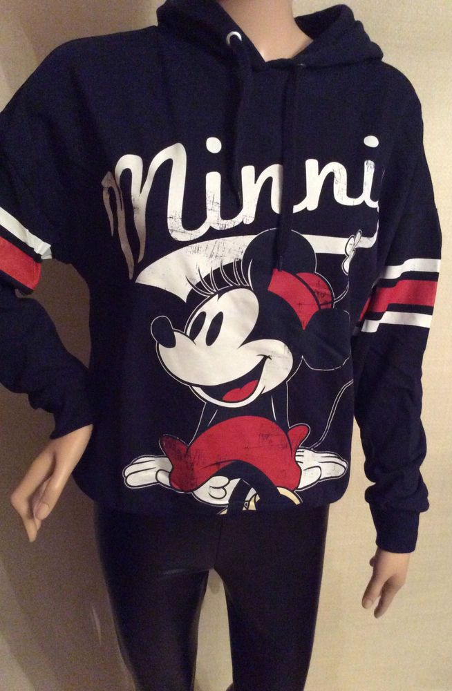 282a253e72 Primark Authentic Disney Minnie Mouse Hoodie Hooded Sweatshirt ...