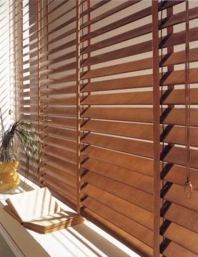Persiana de madera 4 cortina actual pinterest for Amazon persianas venecianas