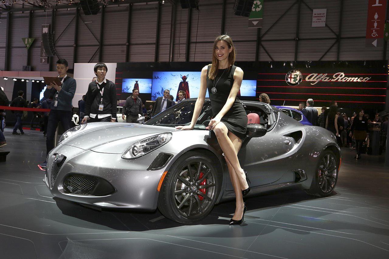 4C Spider at the Geneva International Motor Show!