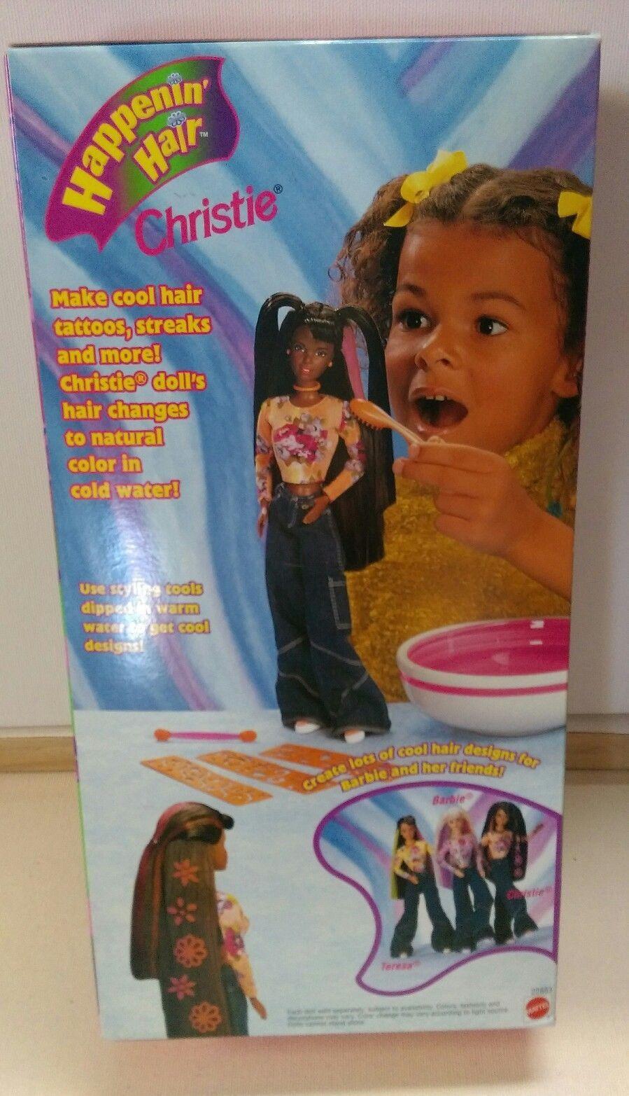 1998 Happenin Hair Christie Black Hair AA African