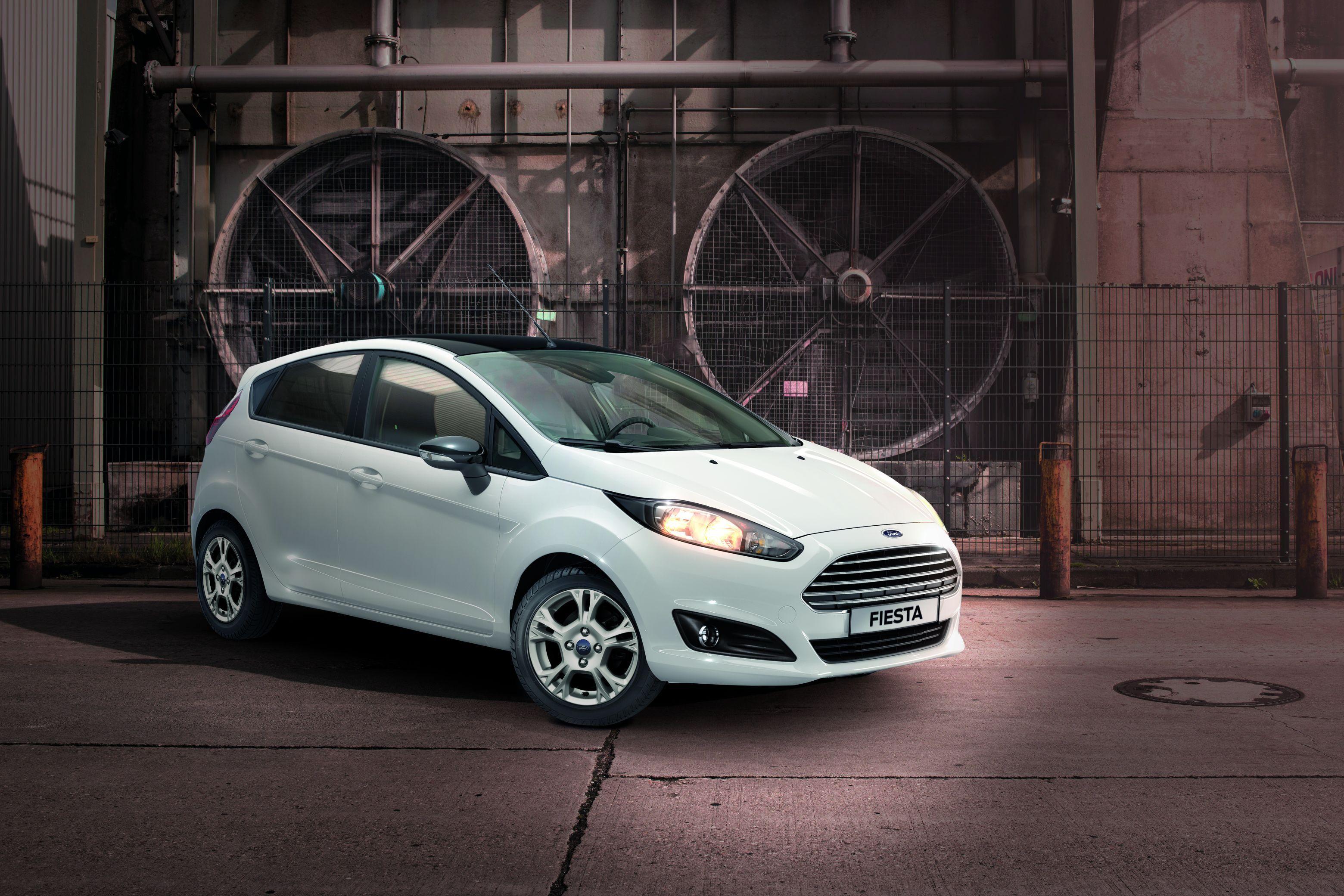 Géén witte senstatie: gelimiteerde Ford Fiesta White Edition