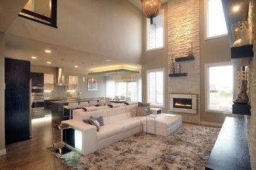 Two Story Living Room Wall Decorating Ideas Valoblogicom