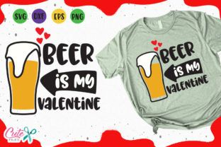 Download Beer is My Valentine Svg (Graphic) by Cute files ...