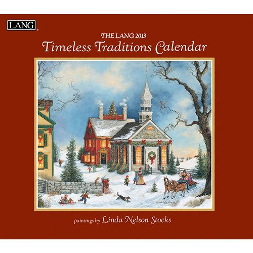 Linda Nelson Stocks Timeless Traditions Wall Calendar LANG is