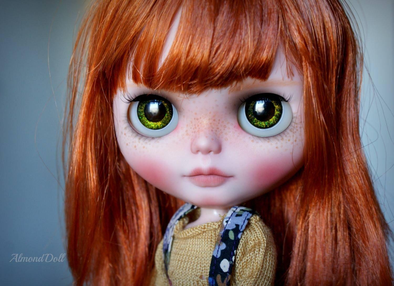 Custom doll by Almond Doll. Photo by Almond Doll