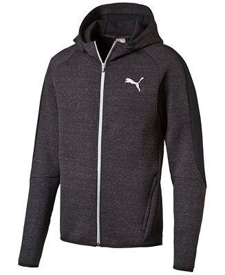 Puma Evostripe Pro Knit Full-Zip Hoodie - Coats & Jackets - Men - Macy's