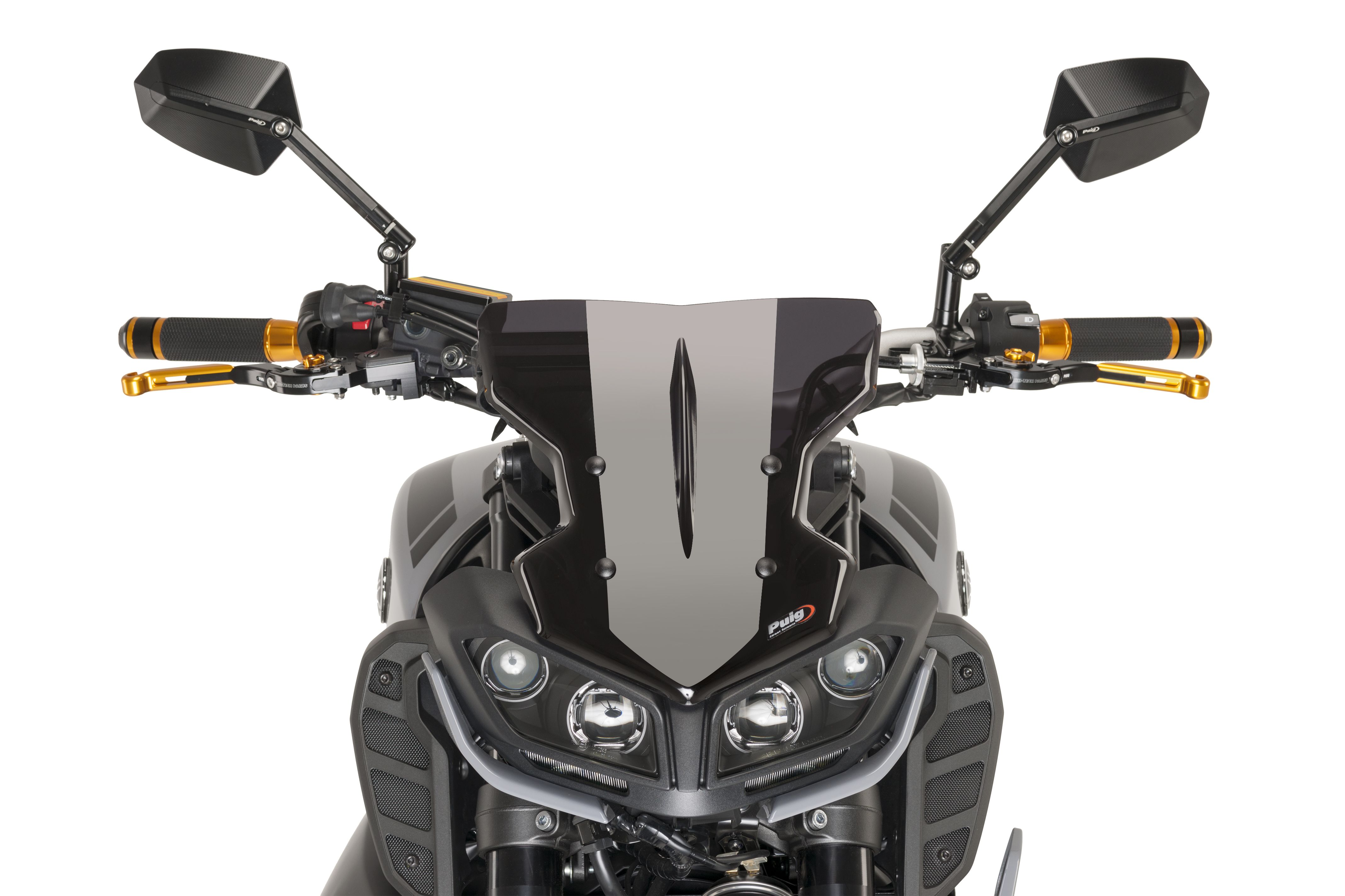 Swing arm protectors & Diavolos for YAMAHA MT09 \'17 by Puig | NEW ...
