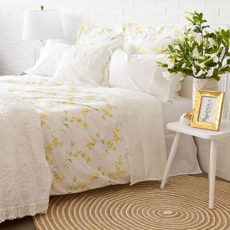 Edredon Nordico Zara Home.Mimosa Print Bedding Zara Home United States Of America The Art