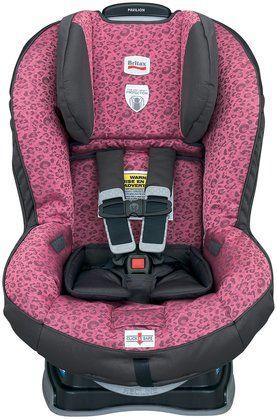 Britax Pavilion Convertible Car Seat G4 - Cub Pink. Pink leopard ...