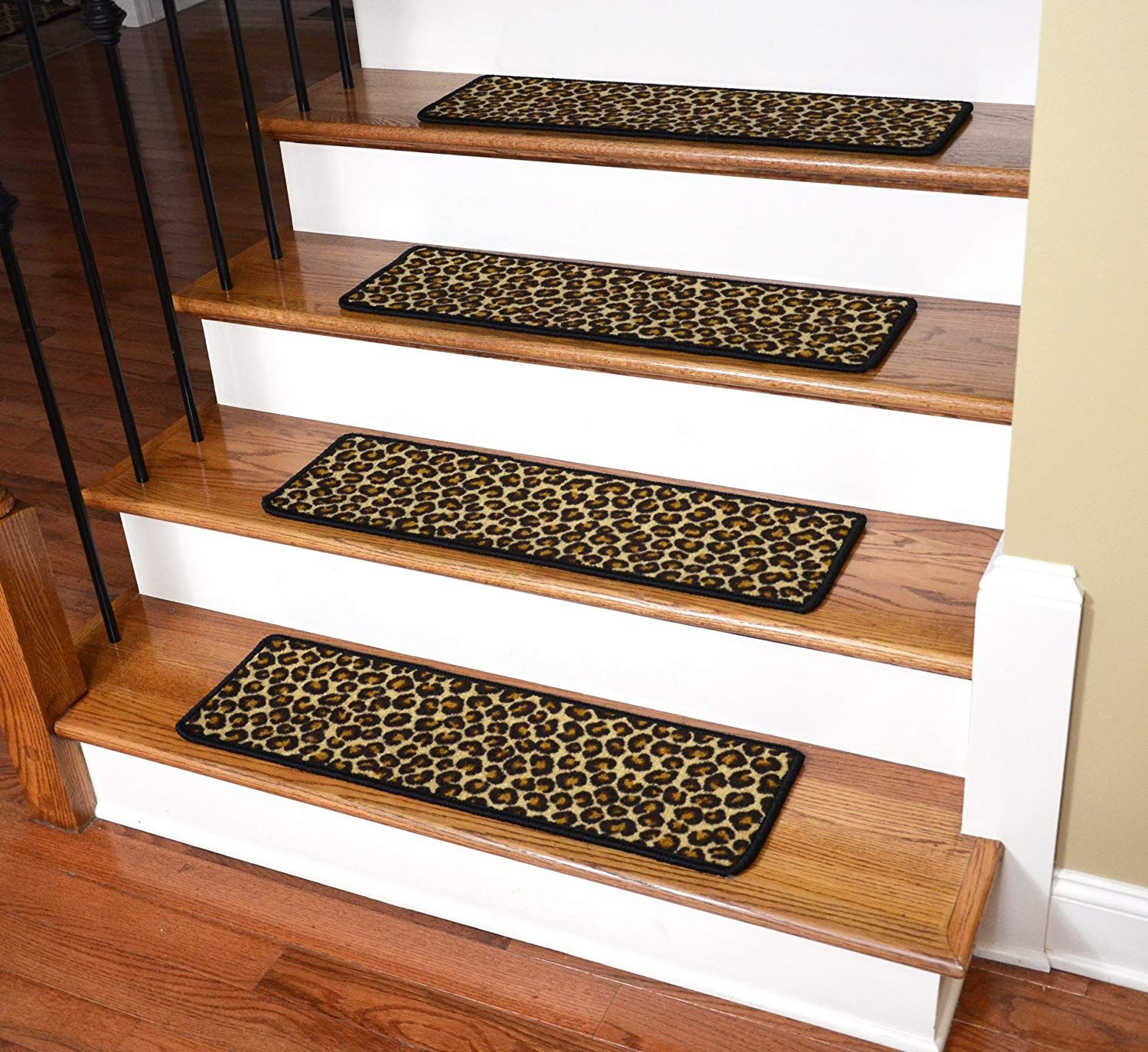 Best Dean Premium Non Slip Pet Friendly Carpet Stair Treads 400 x 300