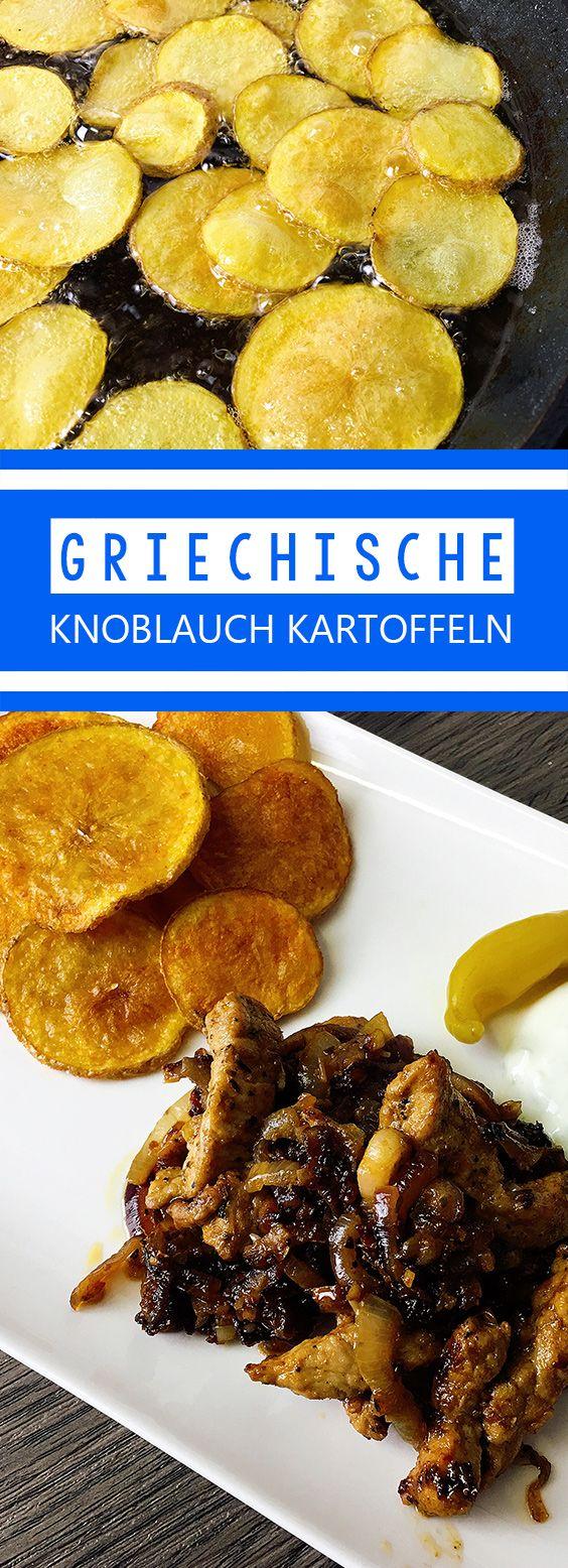 Griechische Knoblauchkartoffeln Rezept | Chilirezept.de #bananapie