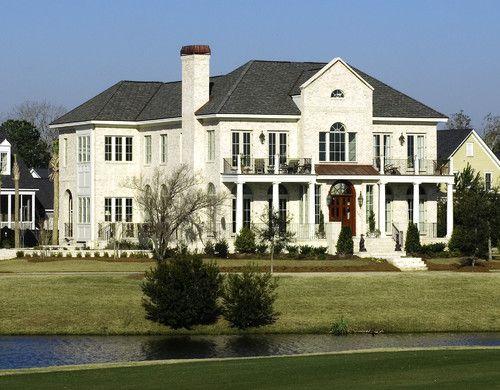 Flynn Residence mediterranean exterior. love the porches ...