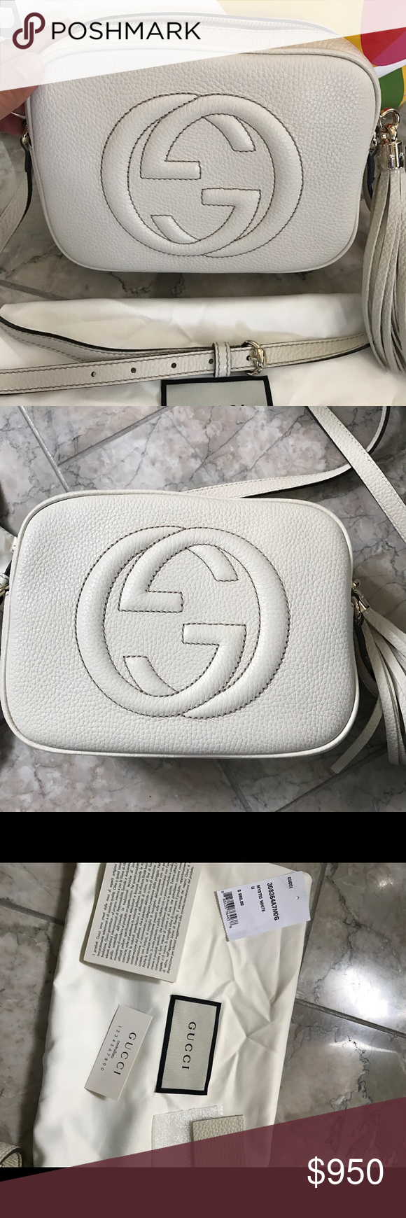 c16208e19c3 New with tag Gucci soho camera bag NEW WITH AUTHENTICITY PAPERS AND DUST  COVER GUCCI LADIES