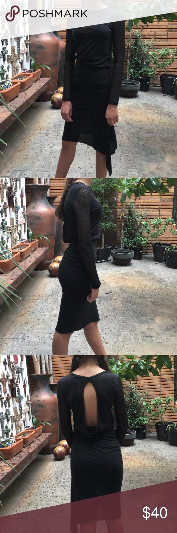 Love zooey grayish black dress bodycon dress and th
