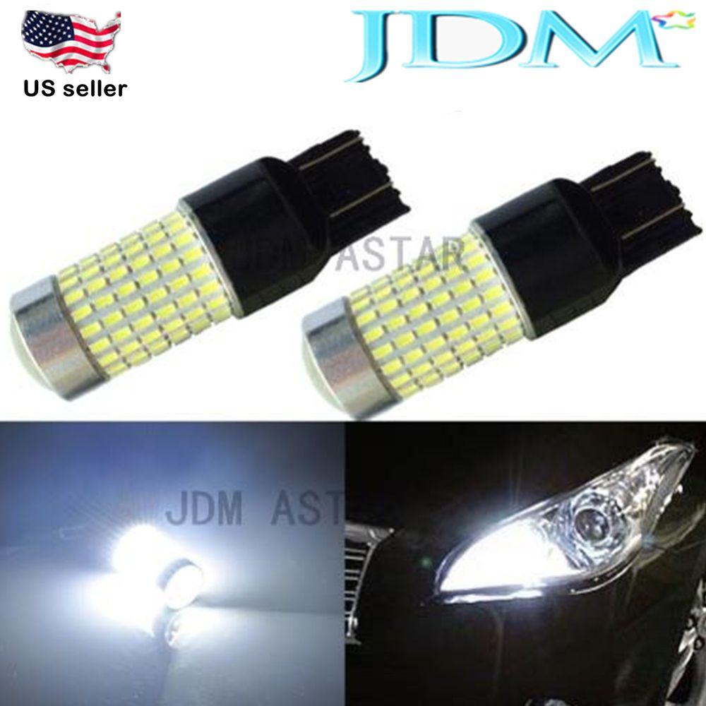 Jdm Astar 2400lm 7440 7443 144 Smd Car Turn Signal Backup Reverse Light Led Bulb Jdmastar Automotive Led Lights Led Replacement Bulbs White Car
