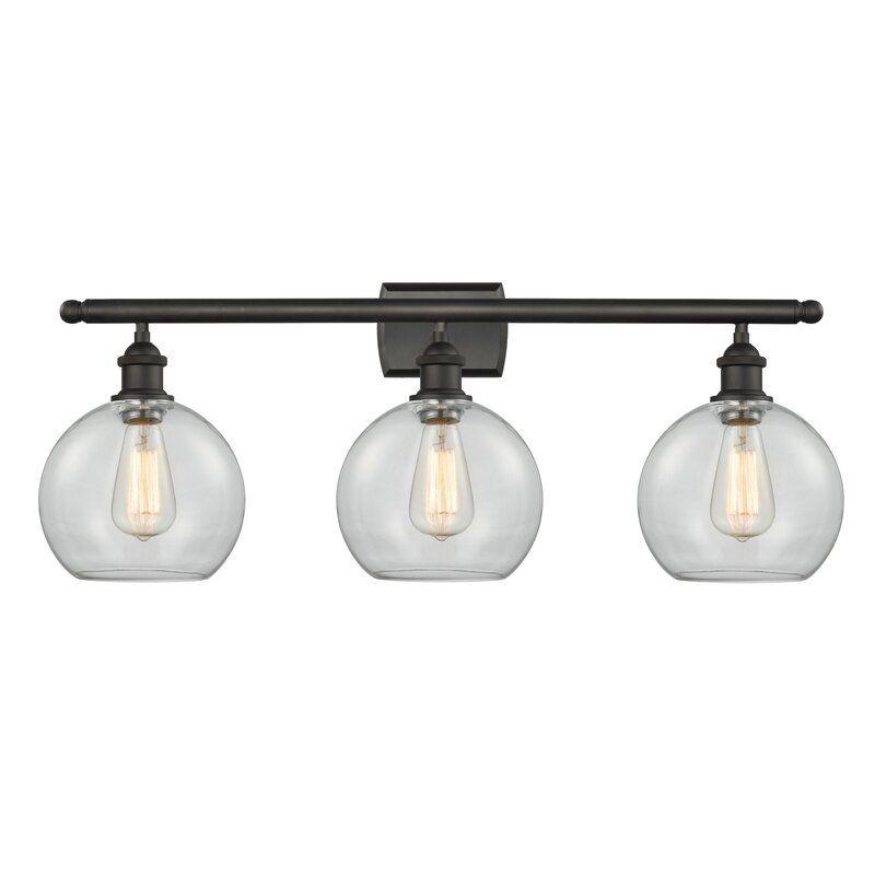 Anya 3 Light Dimmable Vanity Light In 2020 Vanity Lighting Vanity Light Bulbs Vintage Led Bulbs