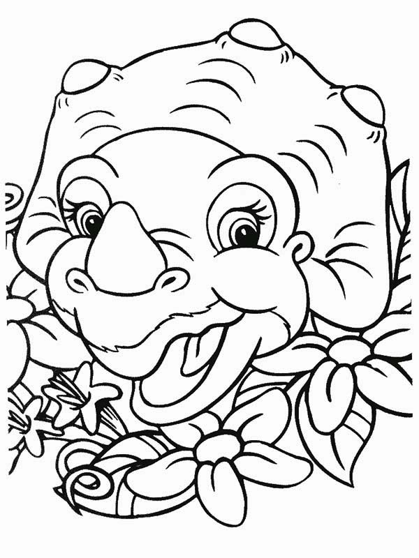 Cera Laugh Land Before Time Coloring Page Download Print Online Coloring Pages For Free In 2020 Dinosaur Coloring Pages Shape Coloring Pages Cartoon Coloring Pages
