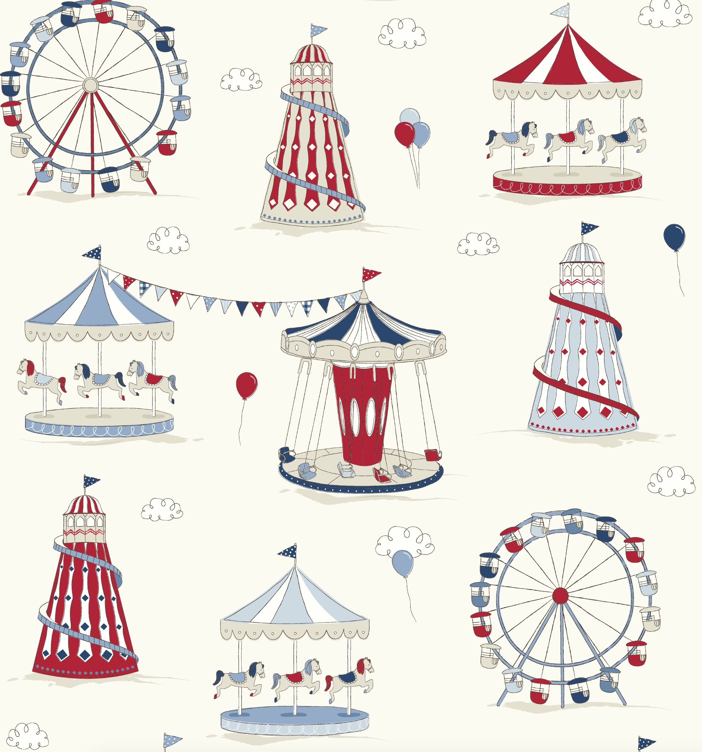 39 fun fair 39 novelty children 39 s fabric patterns for Kids novelty fabric