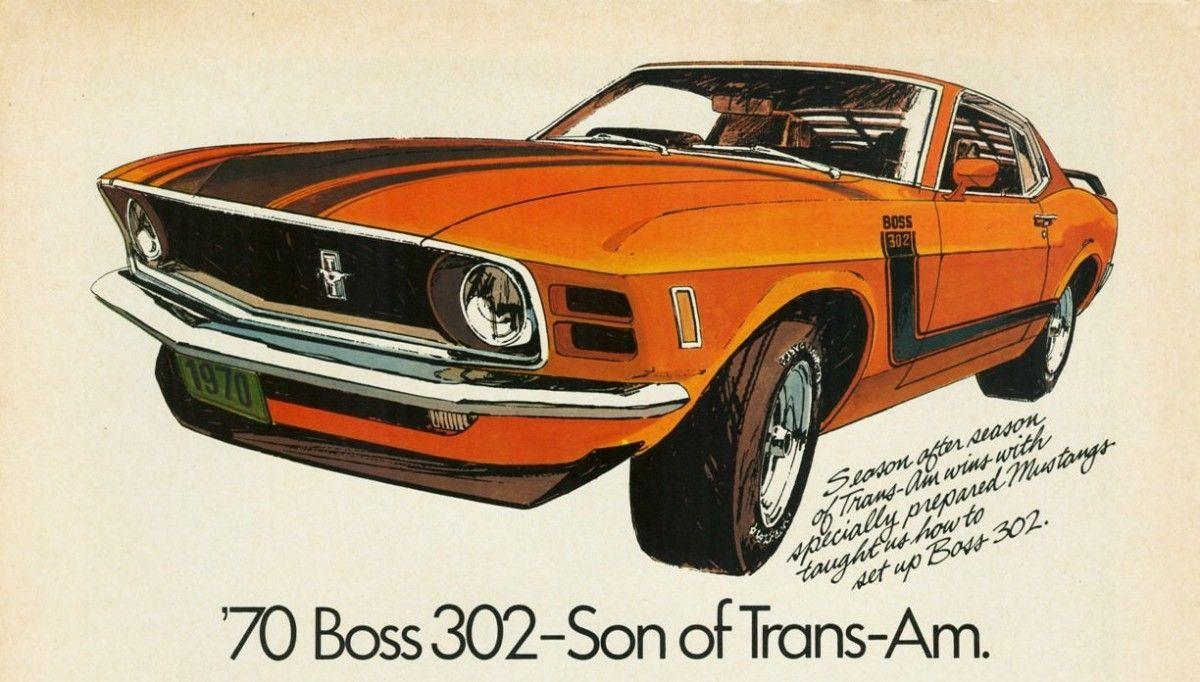 1970 Ford Mustang 302   Chromjuwelen: Vintage Ads   Pinterest ...