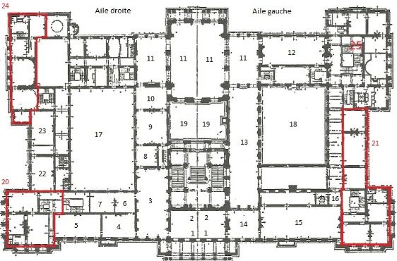 Royal Palace Of Bruxelles Floor Plans Interior Architecture Design Architecture Drawing