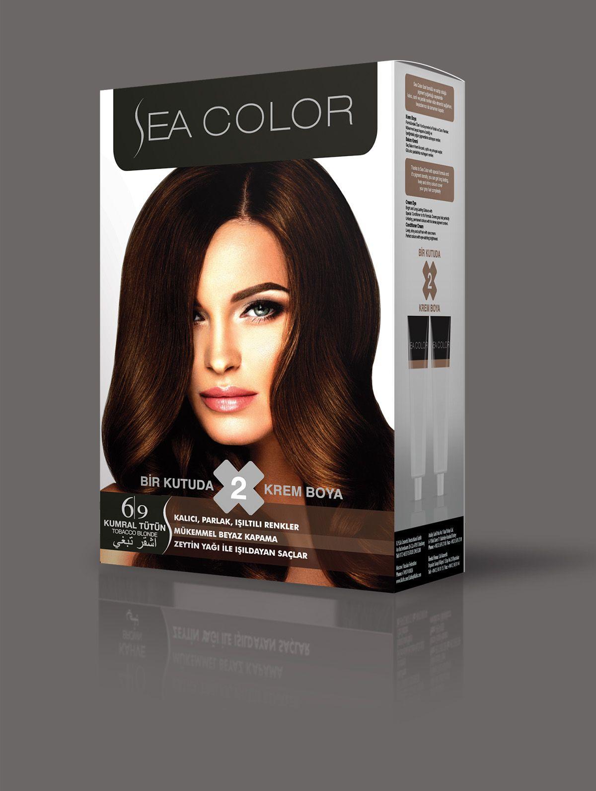 Sea Color Sac Boyasi 6 9 Kumral Tutun Sac Sac Boyasi Renkler