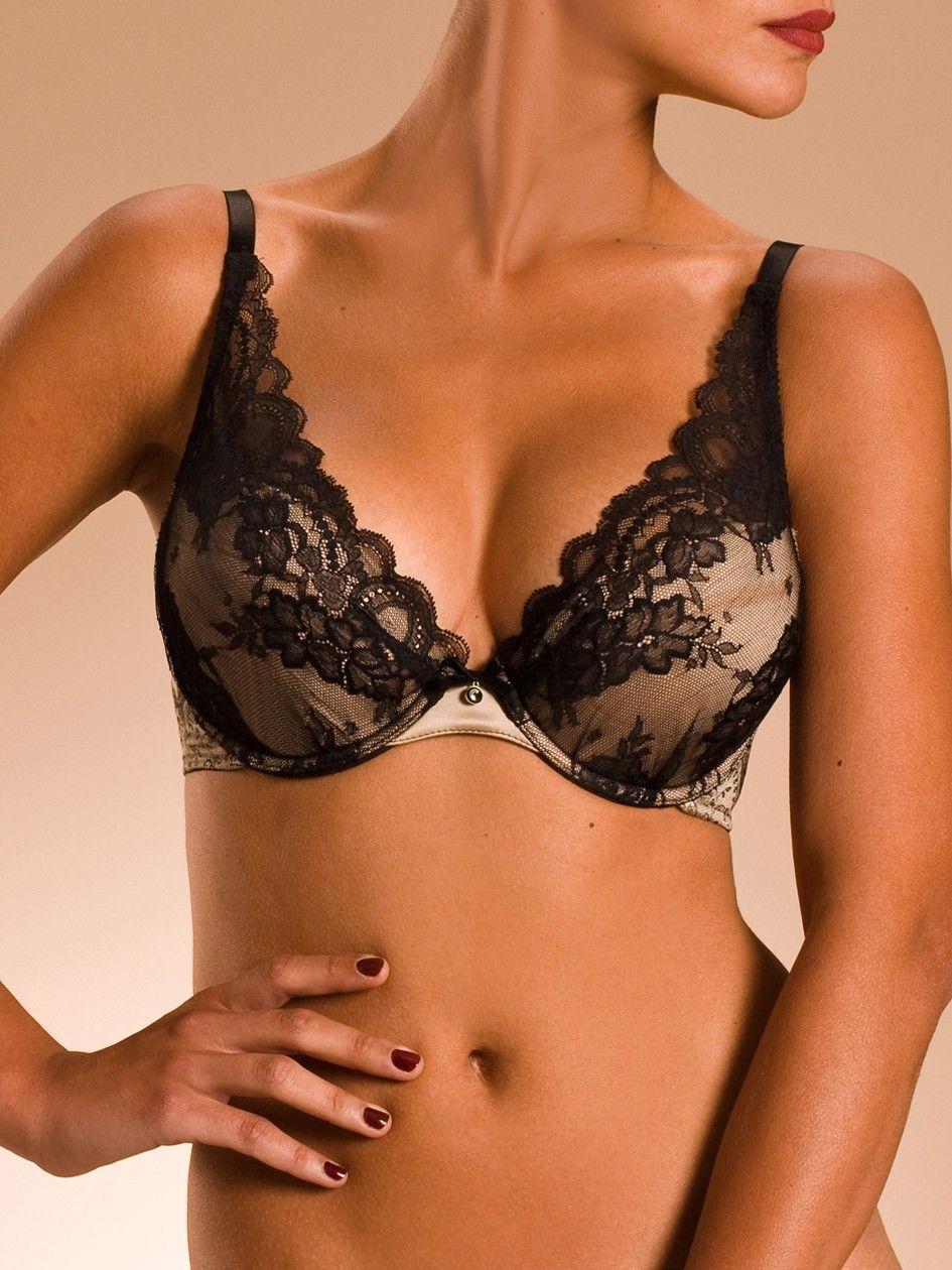 One of my favouritest bra! Chantelle Paris Paris PUSH-UP BRA  14369fc121e