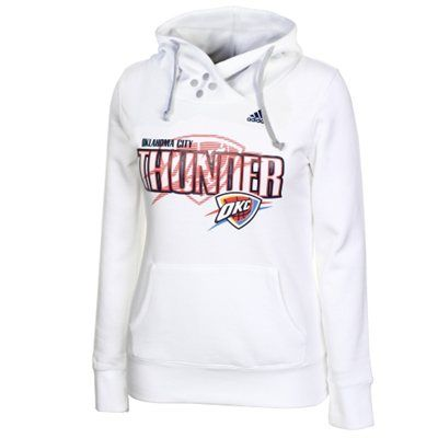 newest 4b681 0e31f adidas Oklahoma City Thunder Ladies Tip Off Overlay Hoodie ...