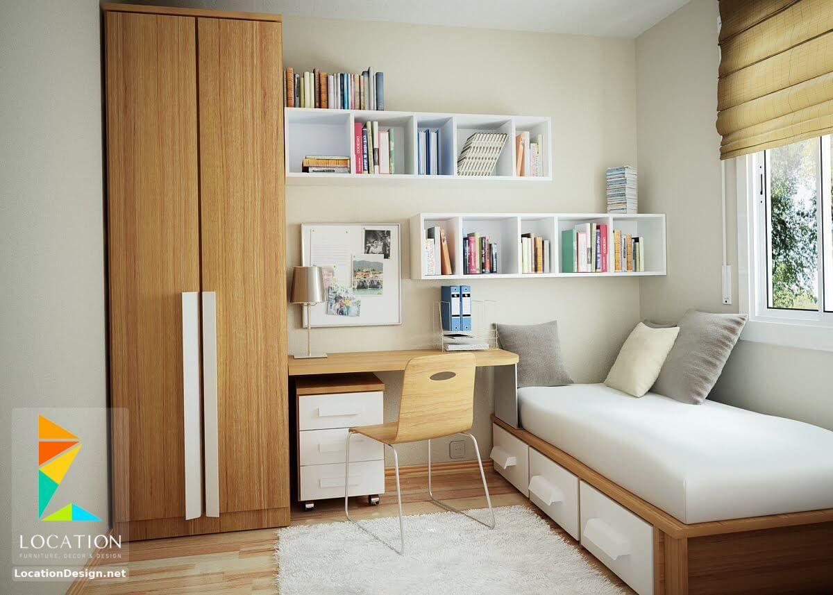 ديكورات غرف نوم صغيرة وبسيطة لوكشين ديزين نت Small Bedroom Layout Small Bedroom Arrangement Bedroom Layouts