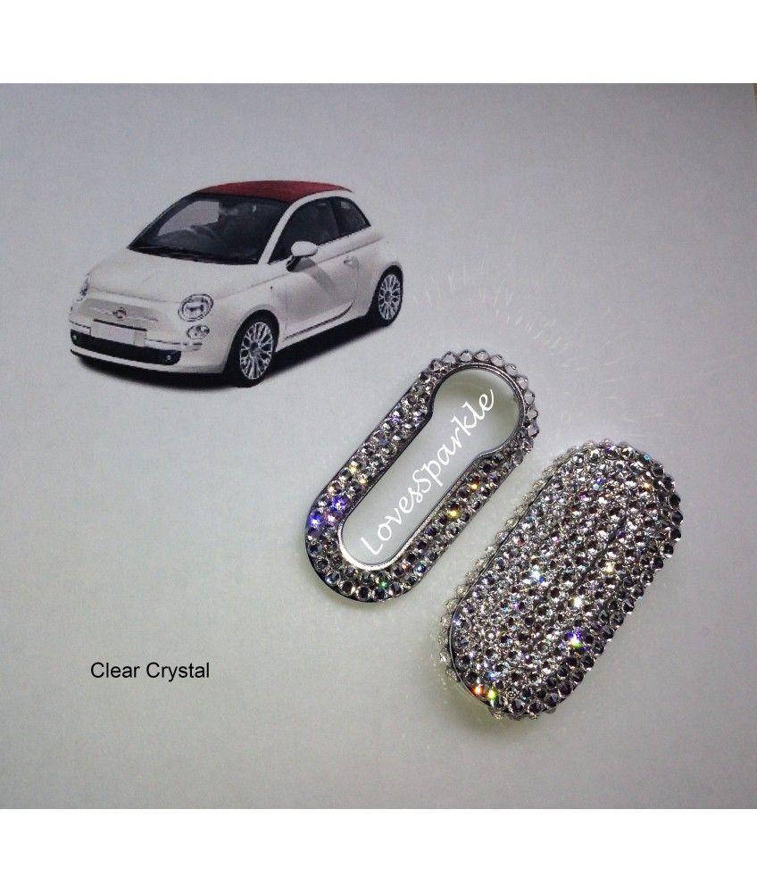 Swarovski Crystal Fiat 500 Key Cover Fiat 500 Fiat 500 Fiat 500