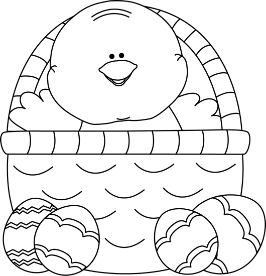 Pin on Clipart 3 Easter Clipart Free Black And White