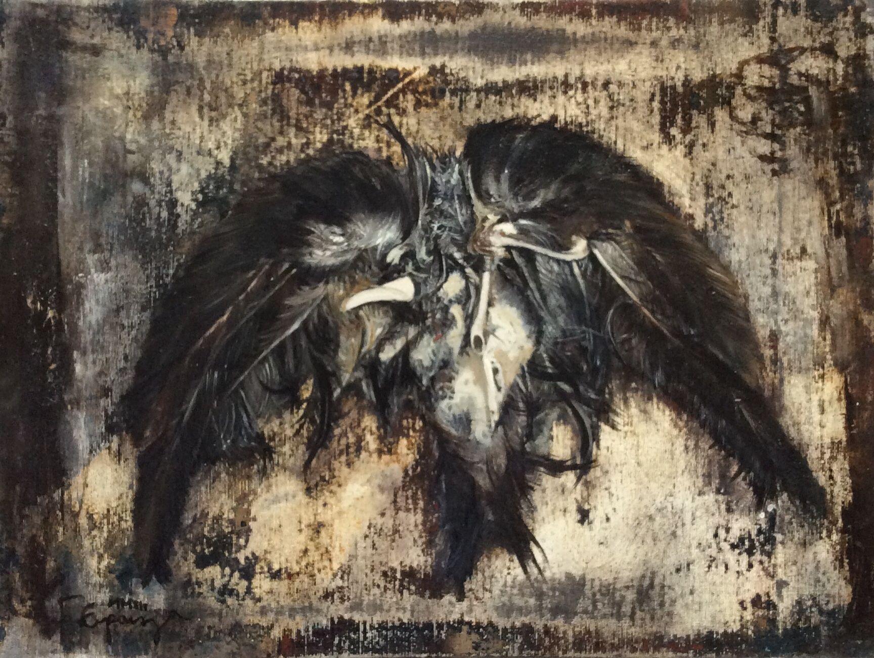 """Desierto""   Óleo sobre lienzo 30 x 40 cm"