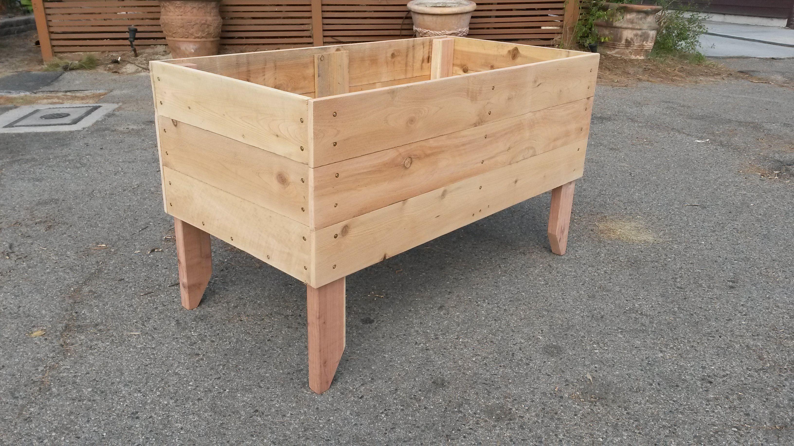 2u0027 X 4u0027 Planter Box On Legs Designed And Built By TheUrbanFarmer.biz