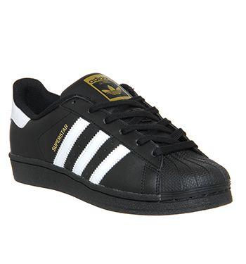 adidas superstar black and white stripes